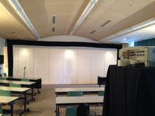 1017ef747ef 10月12日(土) 17時より秋田テルサ5階 第3会議室にて、国民文化祭の応援事業ということで、「秋田コネキネマ自主映画上映会」を行いました。